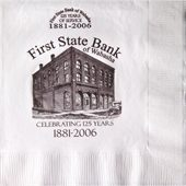 3 Ply White Luncheon Napkins