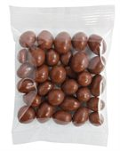 Chocolate Peanuts in 50g Cello Bags
