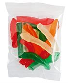 Gummy Snakes 50g Cello Bag