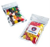 50g Jelly Beans Silver Lock Bag