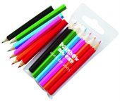 Kids 6 Pack Colouring Pencils