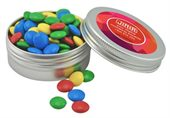 70g Mixed Colour Chocolate Beans Twist Tin