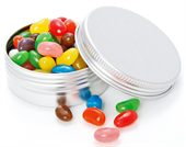 70g Mixed Colour Jelly Beans Twist Tin