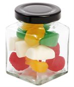 80 gram Small Square Jar Mixed Lollies