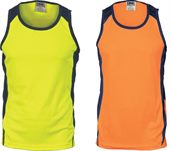 Hi Vis Action Work Singlet