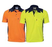 Hi Vis Action Two Tone Polo