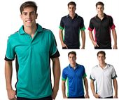 Adults Contrast Polo Shirt