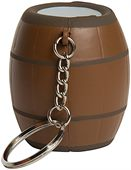 Barrel Stress Reliever Key Ring