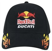 Baseball Cap with Flames