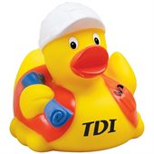 Builder Look Rubber Duck