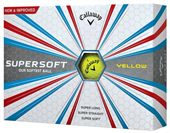 Super Soft Callaway Yellow Golf Ball