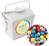 Chocolate Balls Mixed Colours White Noodle Box