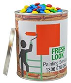 Chocolate Beans Mixed Colours 1000ml Paint Tin