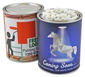 Chocolate Beans Single Colour 1000ml Paint Tin