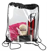 Large Clear Drawstring Backpack