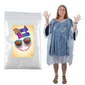 Clear Poncho in Zip Lock Bag