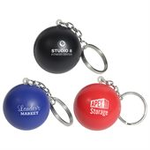 Colourful Stress Shape Key Ring
