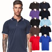 Mens Active Sports Polo Shirt