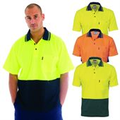 Hi Vis Two Tone Polo Shirt
