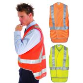 Hi Vis Cross Back Safety Vest