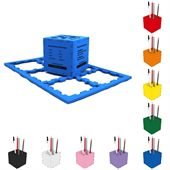 Cube Puzzle Box Pen Holder