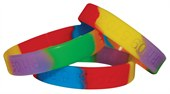 Debossed Coloured Wristband