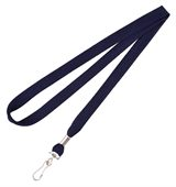Deep Navy Blue Lanyard