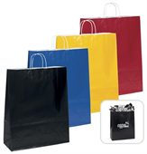 Colourful Paper Shopping Bag
