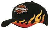 Embroidered Side Flame Cap