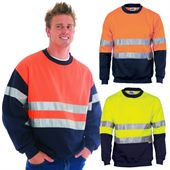 Fleece Hi Vis Sweat Top