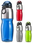 Flip Cap Sports Bottle