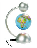 Floating Desktop Globe