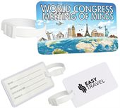 Full Colour Printed Luggage Tag