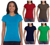 Gildan Ladies Cotton T Shirt