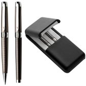 Nickel Plated Pen And Rollerball Set