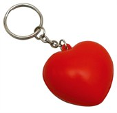 Heart Stress Ball Key Rings
