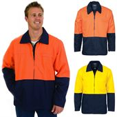 Two Tone High Vis Work Jacket