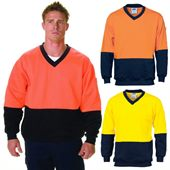 Hi Vis Fleece Sweat Shirt