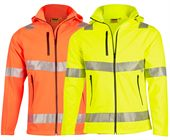 Hi Vis Heavy Duty Softshell Jacket