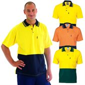 High Viz Cotton Polo Shirt