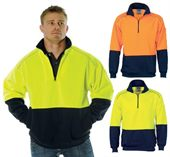 Two Tone Reflective Hi Vis Sweat Top