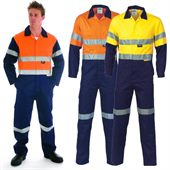 Hi-Vis Reflective Work Coverall