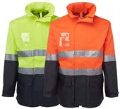 Hi Vis Workwear Safety Jacket