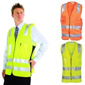 High Vis Side Panel Vest
