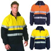 Hi-vis Two Tone Bomber Work Jacket