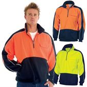 Hi Vis Two Tone Fleece Windbreaker