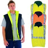 High Vis Reversible Vest