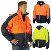 Hi Vis Waterproof Safety Jacket