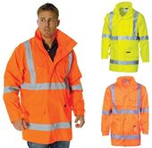 Hi Vis Rain Safety Jacket