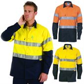 High Vis Reflective Long Sleeve Work Shirt